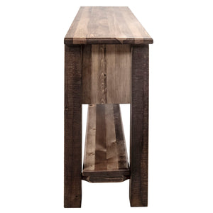 Homestead Rustic Console Table w/ 3 Drawers