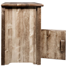 Load image into Gallery viewer, Homestead Rustic End Table w/ Door Left Hinged