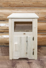Load image into Gallery viewer, Homestead Rustic End Table w/ Door Right Hinged