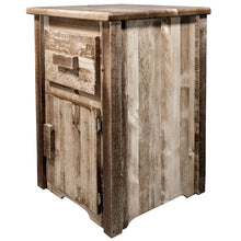 Load image into Gallery viewer, Homestead Rustic End Table w/ Drawer & Door Right Hinged