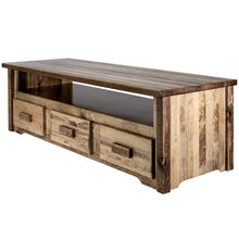 Load image into Gallery viewer, Homestead Rustic Entertainment Center