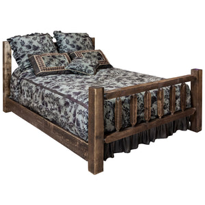 Homestead Spindle Style Rustic Bed