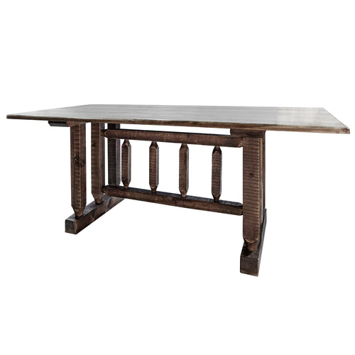 Homestead Trestle Based Rustic Dining Table