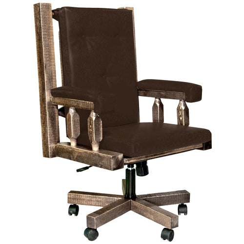 Homestead Upholstered Rustic Office Chair