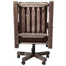 Load image into Gallery viewer, Homestead Upholstered Rustic Office Chair
