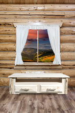 Load image into Gallery viewer, Montana 2 Drawer Rustic Entertainment Center
