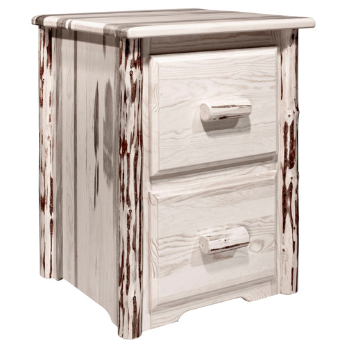 Montana 2 Drawer Rustic File Cabinet
