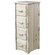 Load image into Gallery viewer, Montana 4 Drawer Rustic File Cabinet