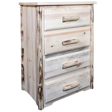 Load image into Gallery viewer, Montana 4 Drawer Rustic Log Dresser