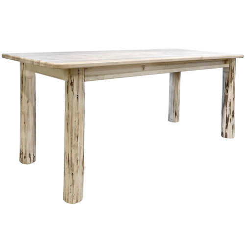 Montana 4 Post Rustic Dining Table