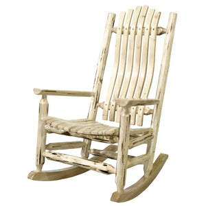 Montana Adult Log Rocker