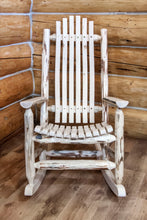 Load image into Gallery viewer, Montana Adult Log Rocker