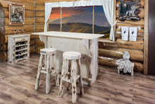 Load image into Gallery viewer, Montana Backless Rustic Bar Stool