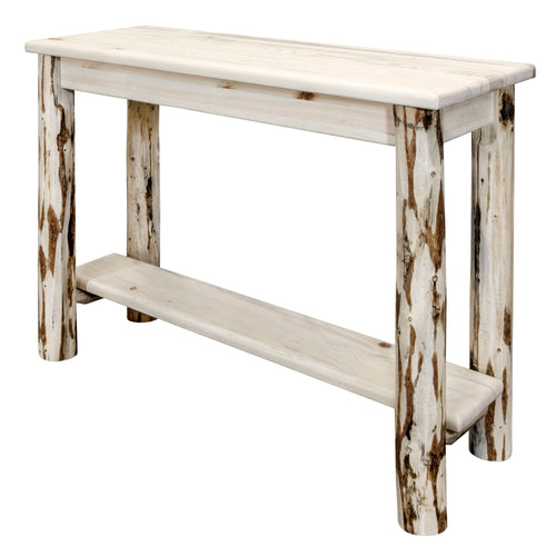 Montana Console Table w/ Shelf