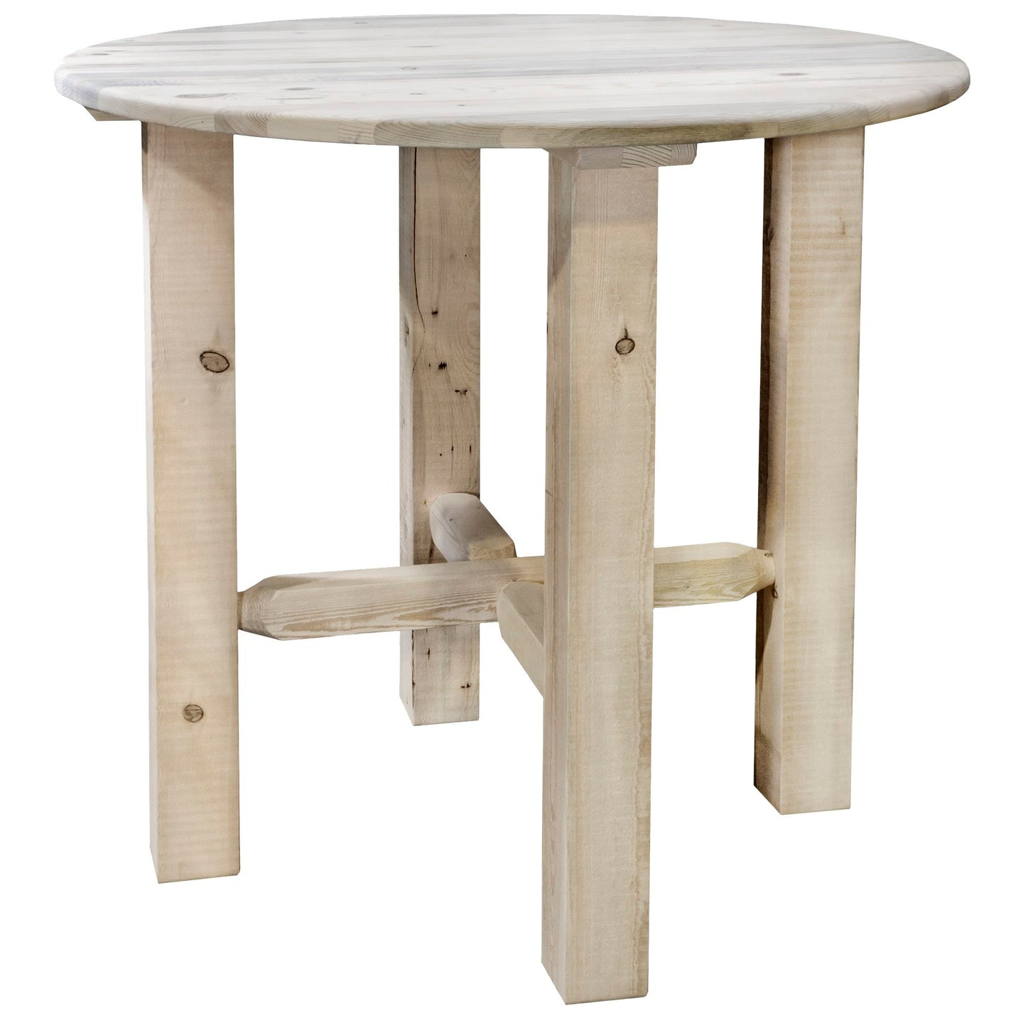 Montana Counter Height Rustic Bistro Table