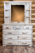 Load image into Gallery viewer, Montana Deluxe Dresser Mirror