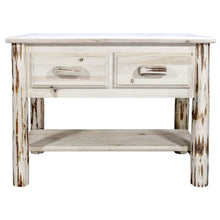 Load image into Gallery viewer, Montana Rustic Console Table w/ 2 Drawers