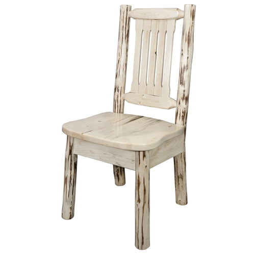 Montana Rustic Dining Chair with Ergonomic Seat
