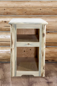 Montana Rustic End Table