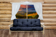 Load image into Gallery viewer, Montana Rustic Futon w/ Mattress