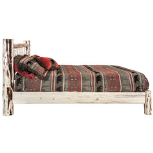 Load image into Gallery viewer, Montana Rustic Platform Bed