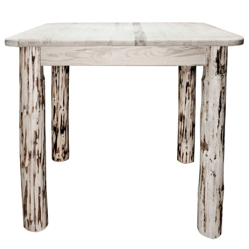 Montana Square 4 Post Rustic Dining Table