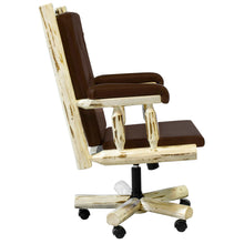 Load image into Gallery viewer, Montana Upholstered Rustic Office Chair