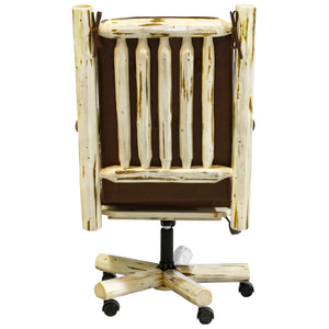 Montana Upholstered Rustic Office Chair