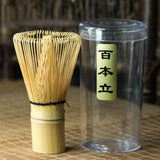 Load image into Gallery viewer, Handmade Bamboo Matcha Powder Chasen Stir Whisk Bai Ben Li