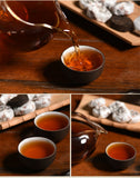 Load image into Gallery viewer, 300g Hunan  Anhua 10 Years Aged 1st Class Tuo Dark Cha Brew Resistant Black Tea