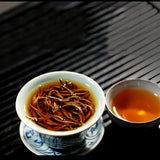 Load image into Gallery viewer, Nonpareil Yunnan Pure Gold Dianhong Organic Golden Snail Loose Black Tea