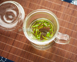 Load image into Gallery viewer, Premium Chinese Natural  Zhu Ye Qing Green Tea Bamboo Leaf Cyan Bud (Mei Tan Cui Ya)