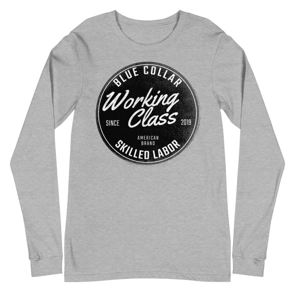 Blue Collar -  Long Sleeve Tee
