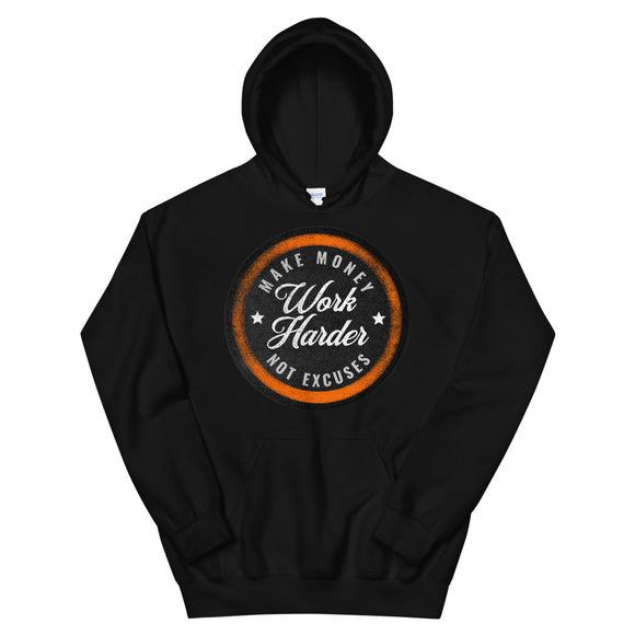 WORK HARDER - Hooded Sweatshirt