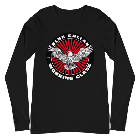 Blue Collar Working Class - Long Sleeve Tee