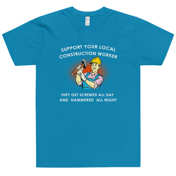 Construction Worker T-Shirt 01