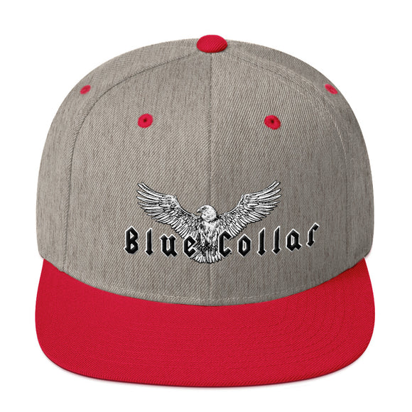 Snapback - Blue Collar Hat
