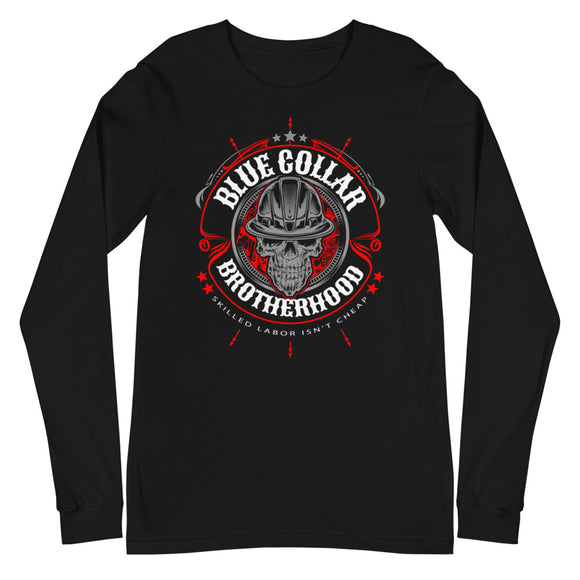Blue Collar Brotherhood -  Long Sleeve Tee