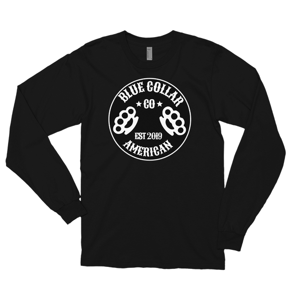 BLK Blue Collar Long sleeve t-shirt