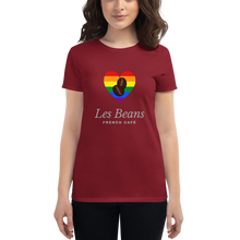 "Load image into Gallery viewer, Women's ""Les Beans"" Tee"