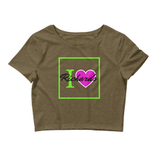"Load image into Gallery viewer, Women's ""I Love Richards"" Crop Top"