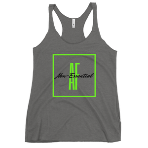 Women's Non-Essential AF Racerback Tank Top