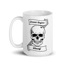 Load image into Gallery viewer, Death Before Decaf Mug
