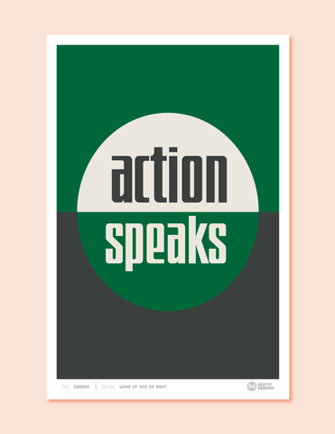 action speaks forest