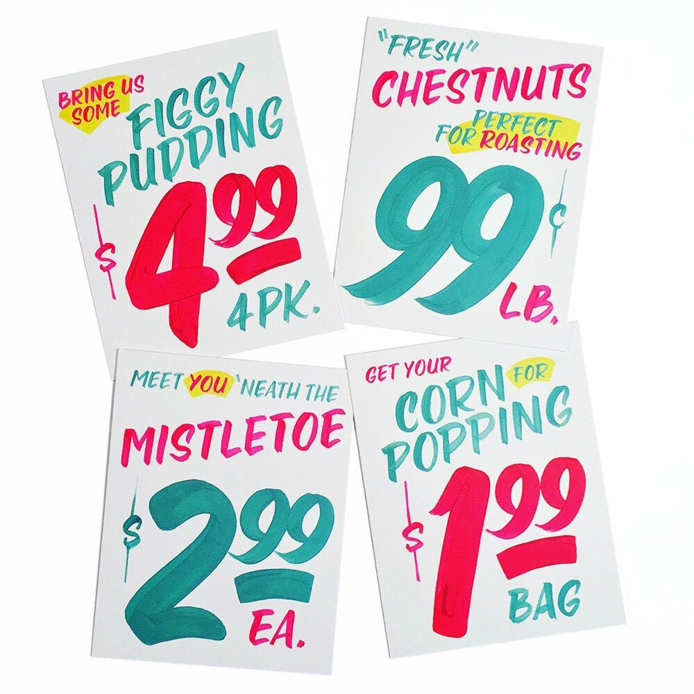 honest ed's showcards