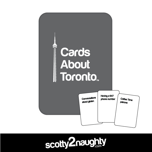Cards About Toronto - The Game