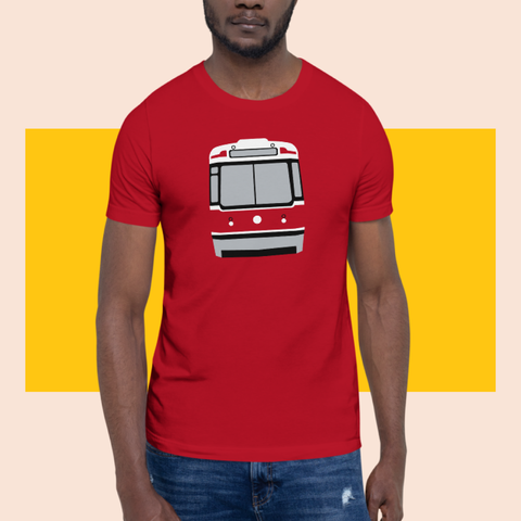 tipsy streetcar tee red