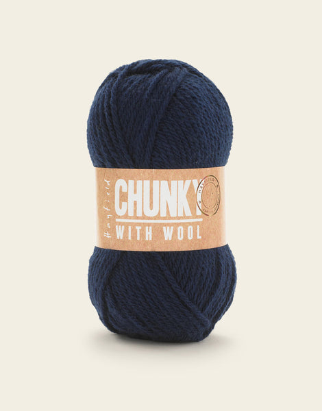Hayfield Chunky with wool 100g 5 Pack