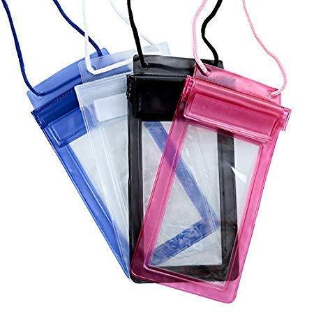 0601 Waterproof Mobile Pouch (6.2 inch , Random Colour)