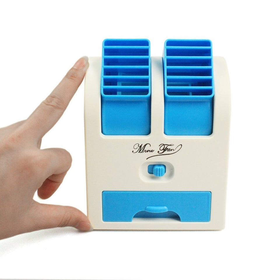 USB Mini Portable Small Air Conditioner Blade less Cooler